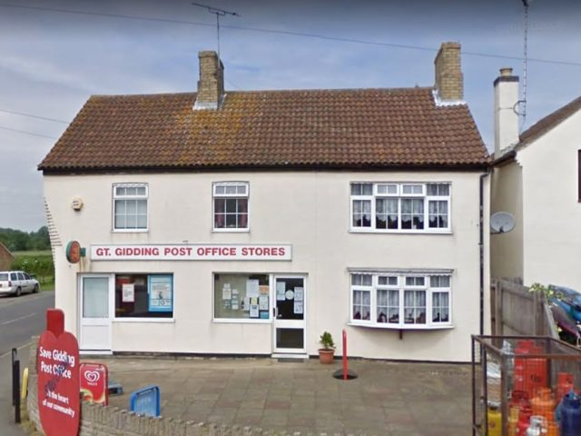 Great Gidding Mobile Service Post Office