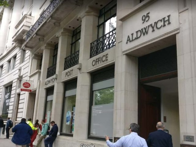 Aldwych Post Office