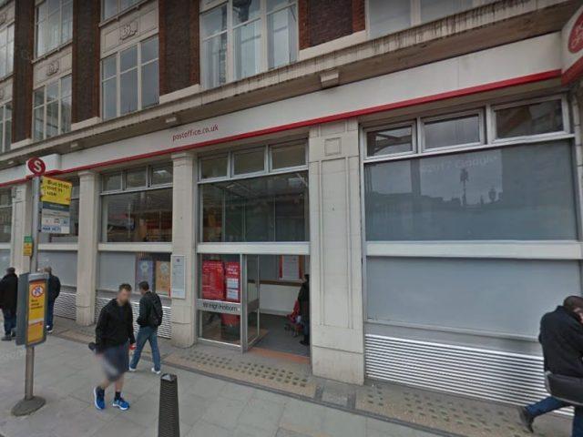 High Holborn Post Office