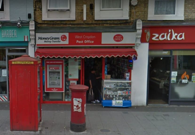 West Croydon Post Office Opening Times Address Phone